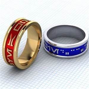 11 geeky wedding rings for nerdy nuptials diply With wedding rings for nerds
