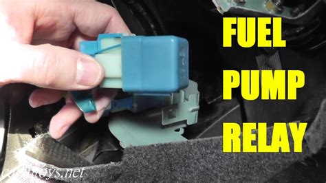 fuel pump relay testing  replacement youtube