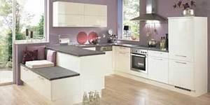design et couleur parme pour la cuisine ouverte With palette couleur peinture mur 14 amenagement optimise et deco pour ma cuisine ouverte