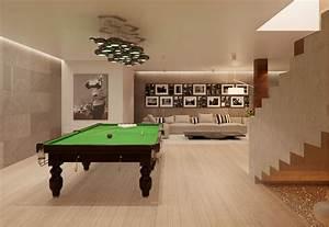 Modern, House, Interior, Design, Ideas, With, Elegant, Indoor, Swimming, Pool