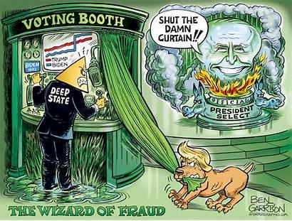 Biden Trump Garrison Ben Fraud Brawl Wizard