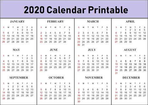 Both sunday start, monday start. Free 2020 Printable Calendar Templates - Create Your Own Calendar - Calendar Letters