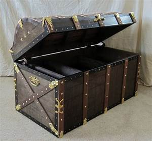Authentic Pirate's Treasure Chest / Trunk Full Size