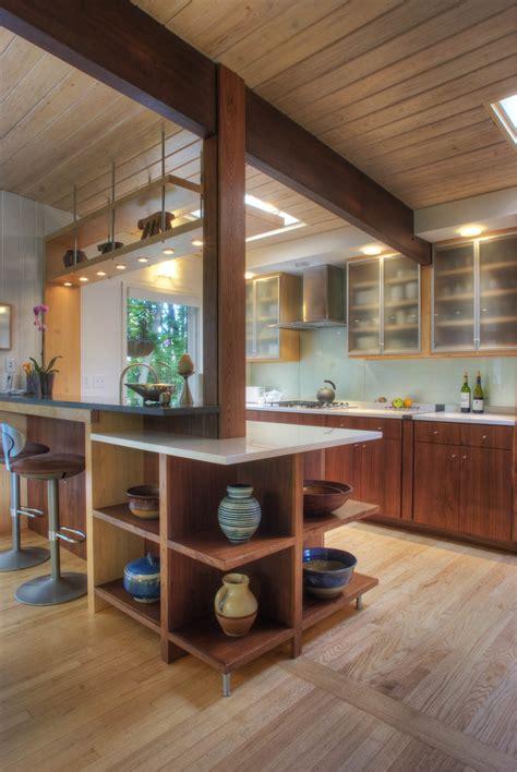 mid century modern kitchen  architects contemporary