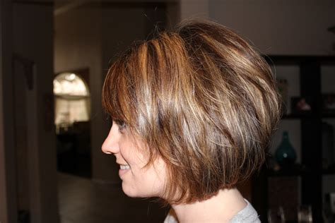 Short & Stacked Haircut So Fun…