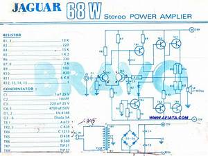 68w Power Amplifier Schematic