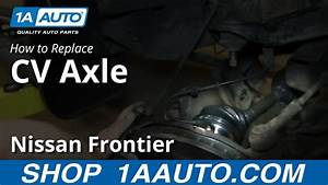 How To Replace Cv Axle Shaft 1998