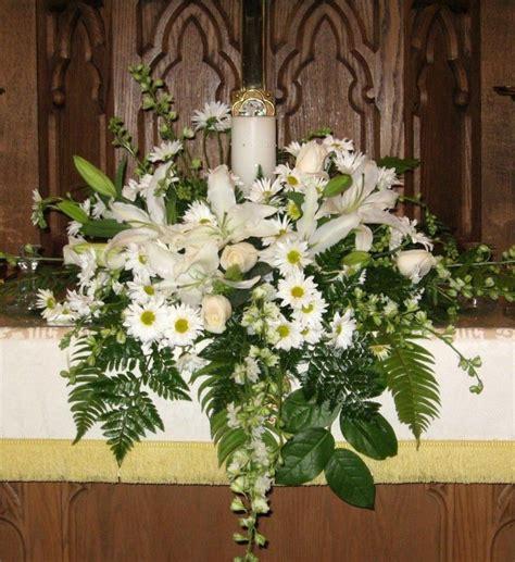 church altar arrangements fall flower arrangements