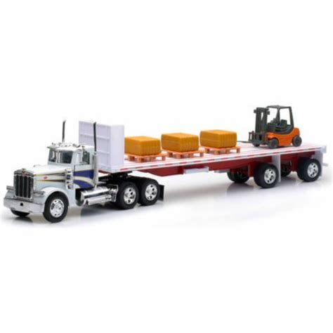 ray toy  die cast hay bale truck tractor supply
