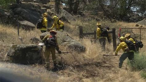 cal fire prepares  controlled burn  highway