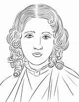 Harriet Beecher Stowe Coloring Printable Keller Helen Supercoloring Kolorowanki Famous Drawing Wheatley Cartoon Kolorowanka Template Categories sketch template