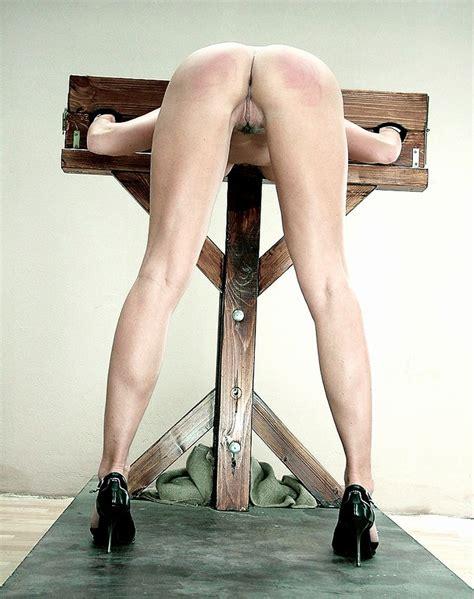 Bondage Nude High Heels Stockade Macetheace