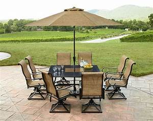 Review Grand Resort Sunset Place 9pc Dining Set