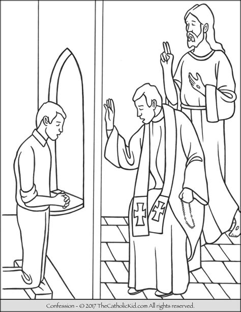 catholic coloring pages  kids images
