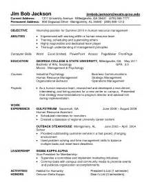 Audit Internship Resume Sle by Sle Resume For Accounting Internship Free Templates For