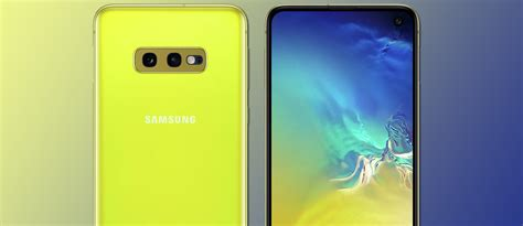 galaxy s10e is official gets same premium design with