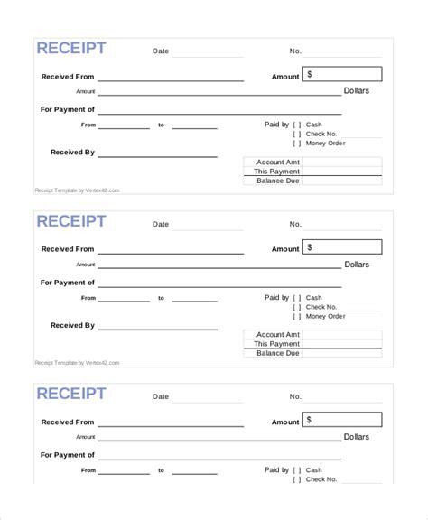 Cash Receipt Template  15+ Free Word, Pdf Documents