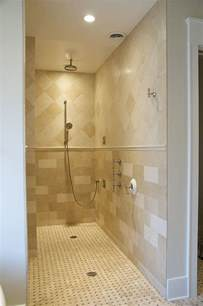 Diy Re Tile Shower by Walk In Shower With No Doors Quotes