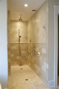 123 best walk in shower sunken tub images on pinterest With walk in shower no door