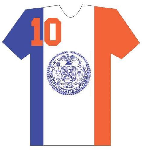 T Shirt Kaos New York new york city city flag jersey t shirt graphic design
