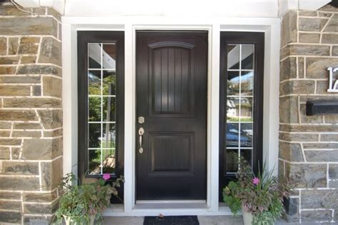 27 Pictures Of Black Front Doors (front Entry Textured Paint For Wood Virtual Exterior Sprayer Interior Foundation Southwest Colors Remover Brick Nerolac Paints Shades Painting Ann Arbor Mi