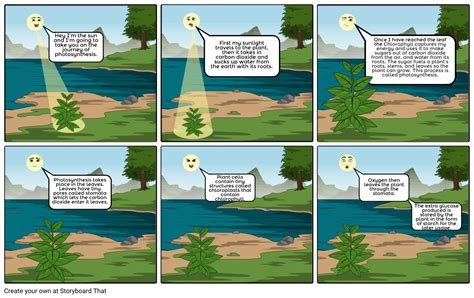 tess byrnes awesome photosynthesis comic strip