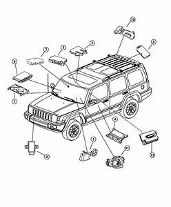 Jeep Commander Module  Steering Control  Wipersfog