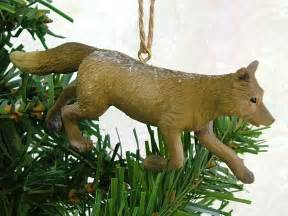 Woodland Animals Christmas Tree Ornaments