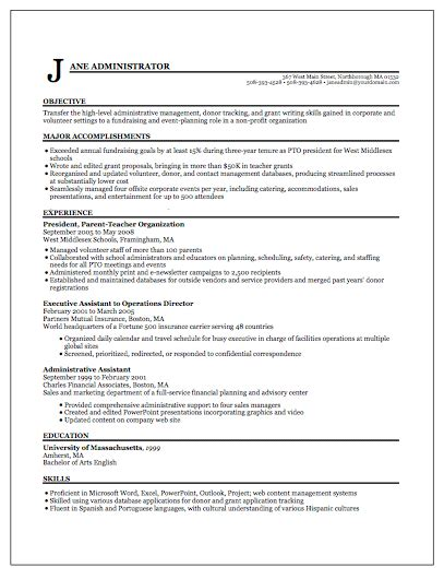 Best Resume Format by Resume Format Write The Best Resume