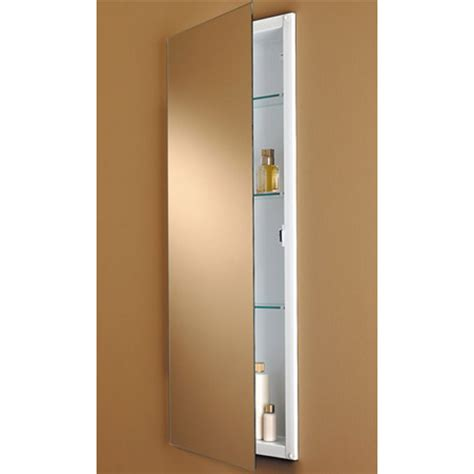 Broan Oval Recessed Medicine Cabinet by Low Profile Frameless Medicine Cabinet By Formerly