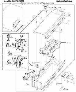 Parts For Samsung Dv448aew  Xaa