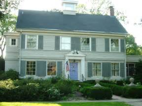 colonial house style paint your colonial federal or style home paint