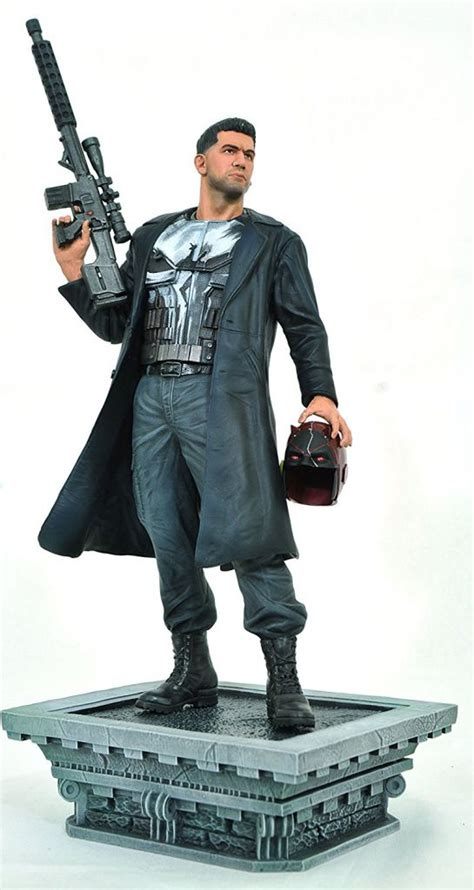 marvel select gallery netflix pvc statue the punisher