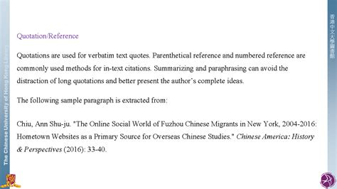 References Or Reference by Quotation Reference Citation Styles Libguides At The