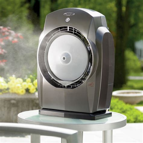 mist fan outdoor humidibreeze portable misting system the green head