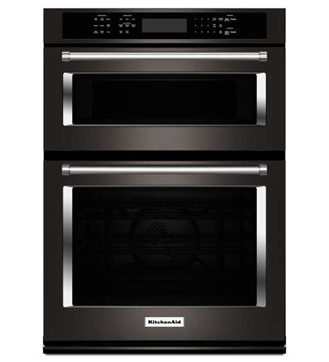 KOCE500EBS Kitchenaid 30 Inch Combination Wall Oven