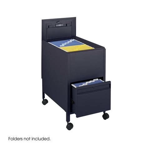 Tub Files by Safco Locking Tub Files Withdrawer Letter 5364