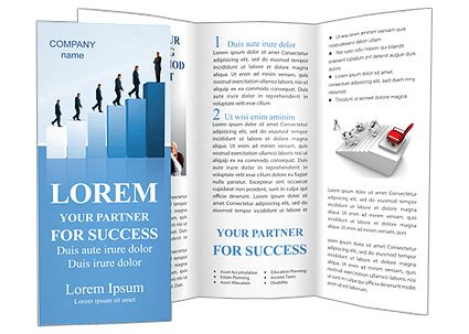 Career Brochure Template by Successful Career Brochure Template Design Id 0000000733