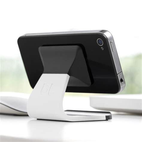 support de bureau pour smartphone supporto da tavolo universale per smartphone milo bianco