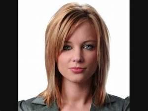 Coupe Petite Fille Mi Long : photo coiffure mi long mod les de coupe de cheveux mi longs et mi longue youtube ~ Melissatoandfro.com Idées de Décoration