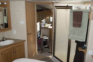 Matt and kathleen39s 5th wheel tiny house blog for Fifth wheel with 2 bathrooms