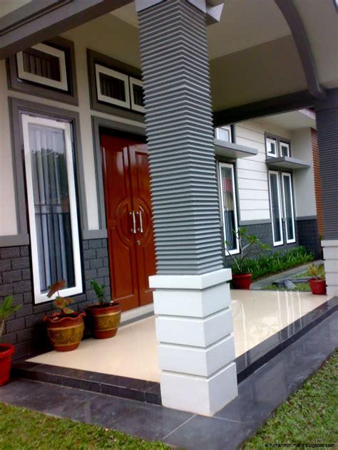 gambar contoh model teras rumah minimalis modern