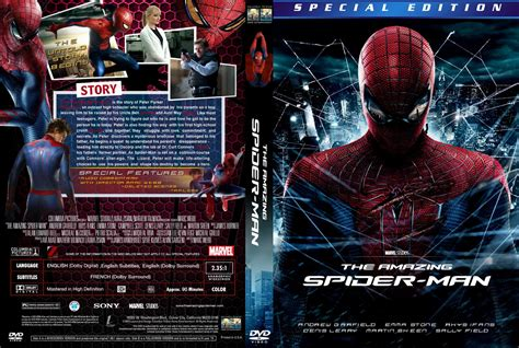 The Amazing Spider Man Movie Cover