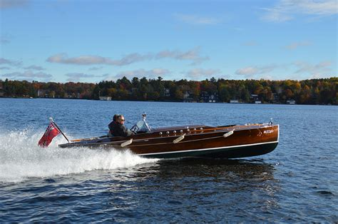 Wooden Runabout Boat Builders by Wooden Boat Builders Thrive In Muskoka Boats And Places