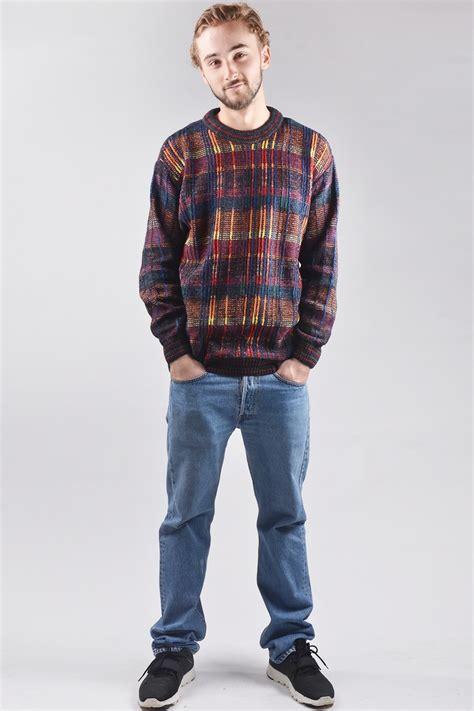 Oversized 90s FIUME vintage sweater for men | Clothing Online | 32121 | Doortje Vintage
