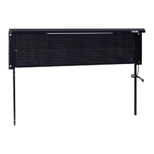 craftsman  metal workbench backwall