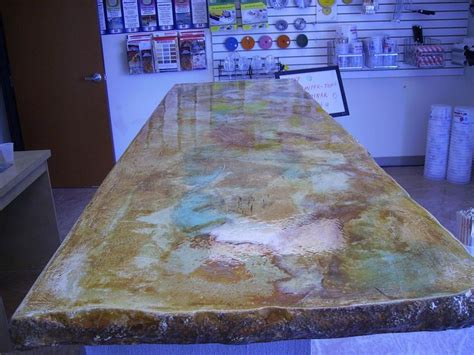 How To Acid Stain Concrete Countertops - countertop jpg provided by concrete acid
