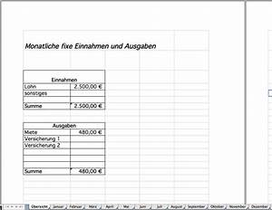 Fixe Stückkosten Berechnen : haushaltsbuch als excel vorlage kostenlos excel vorlagen f r jeden zweck ~ Themetempest.com Abrechnung