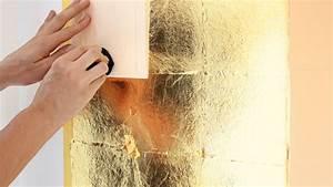 Papier Auf Glas Kleben : vergolden mit blattgold anleitung zum selbermachen ~ Watch28wear.com Haus und Dekorationen