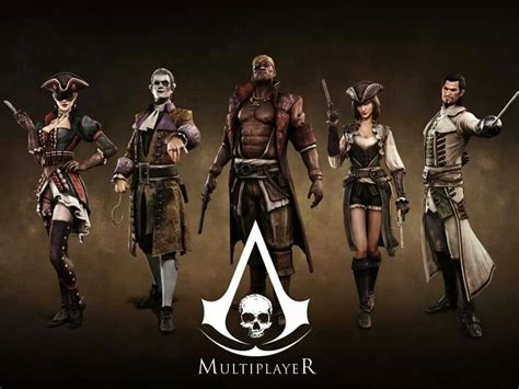 Assassins Creed Iv Black Flag Multiplayer Characters